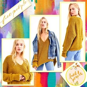 🌻 Free People Finders Keepers V-Neck Sweater 🌻